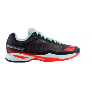 Кроссовки Babolat Jet Team All Court Women Grey/Red/Blue 257