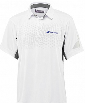 Поло Babolat Performance Boy White