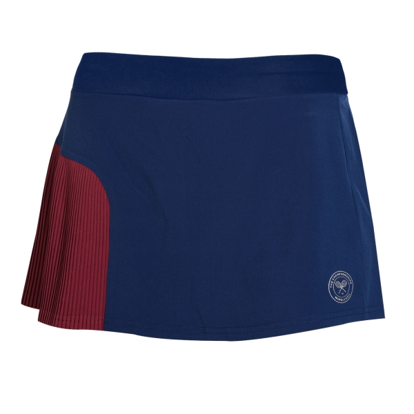 Юбка женская Babolat Performance Skirt Wimbledon Blue/Tibetan Red