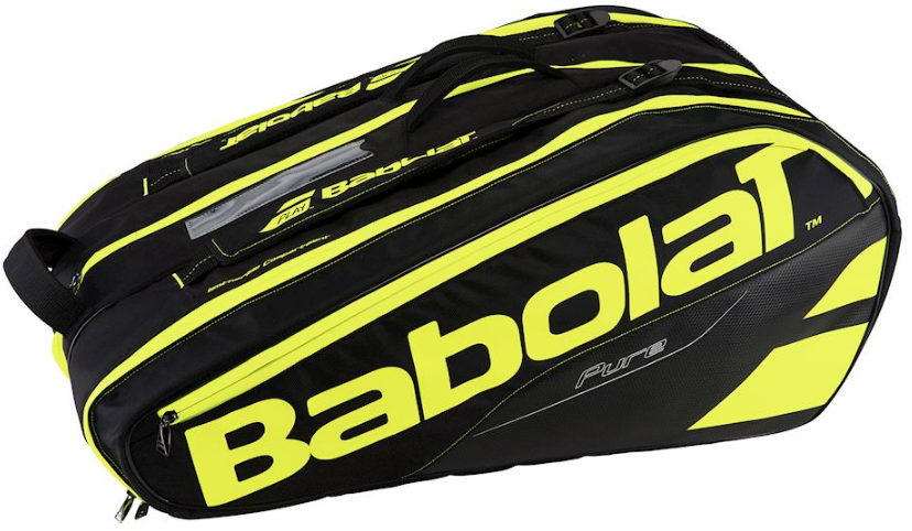 Сумка Babolat Pure x12 Black/ fluo yellow