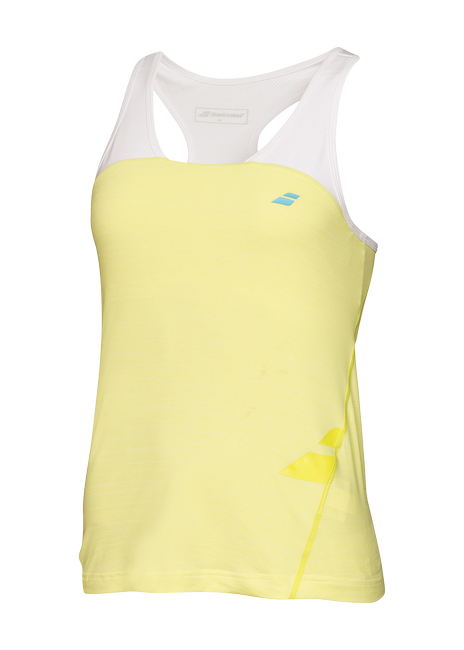 Майка Babolat Tank 2 Perf Lime Washed