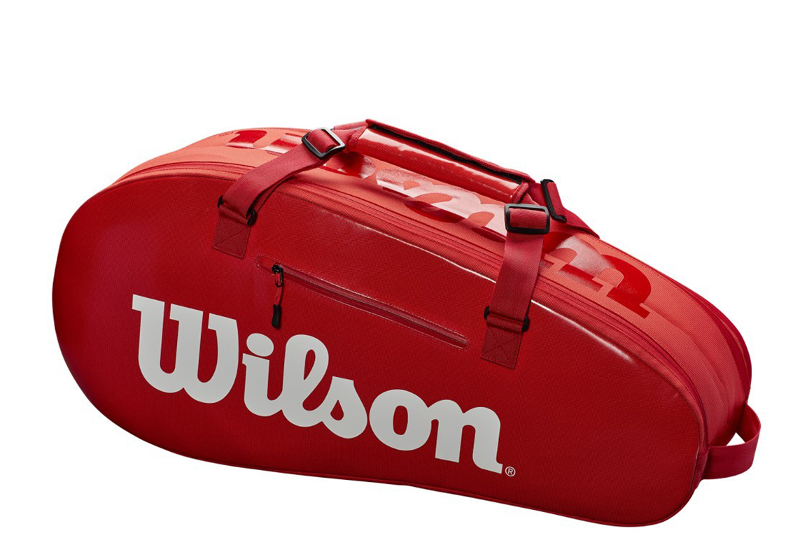 Сумка Wilson Super Tour 2 Comp Small Red 6R