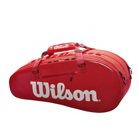Сумка Wilson Super Tour 2 Comp Small Red
