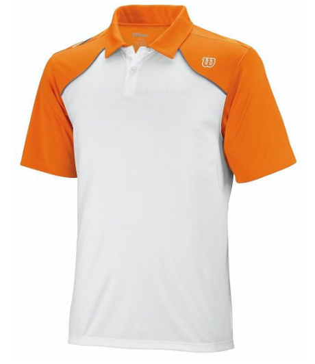 Поло Wilson Well Equipped Polo WhiteTuscan Orange