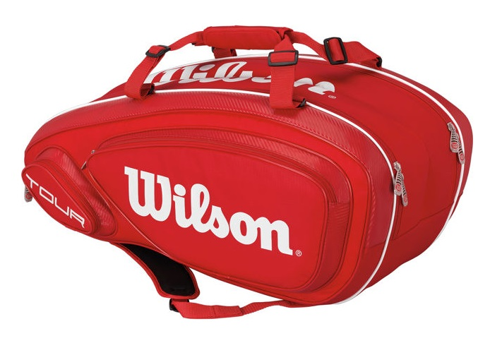 Сумка Wilson Tour V 9 Pack Red