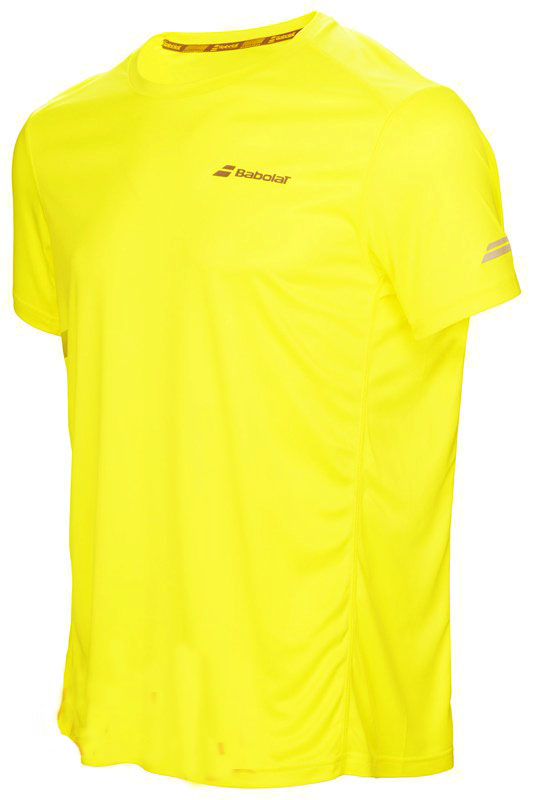 Футболка Babolat Core Flag Club Yellow